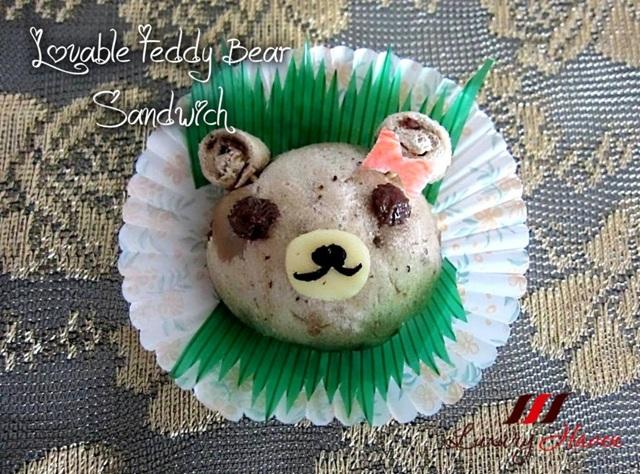 ayam brand tuna teddy bear sandwich lunch box