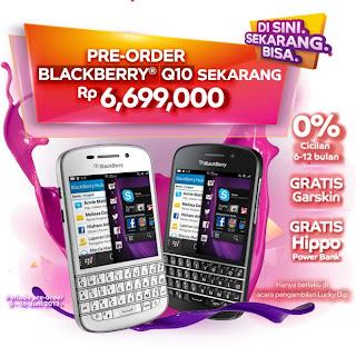 Preorder BlackBerry Q10 Rp 6.699.000