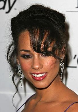 Black Prom Hairstyles for Long Hair