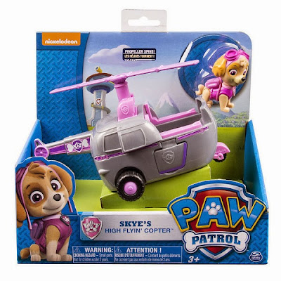 JUGUETES - Paw Patrol | La Patrulla Canina  El helicóptero de Skye | Vehículo + Figura  Skye's High Flyin' Copter  Toys | Producto Oficial Serie Televisión Nickelodeon | A partir de 3 años