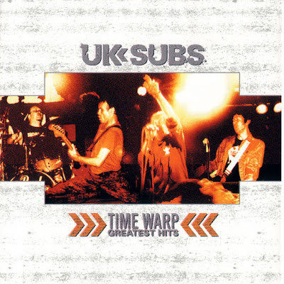 "U.K. SUBS ""Time Warp Greatest Hits"""