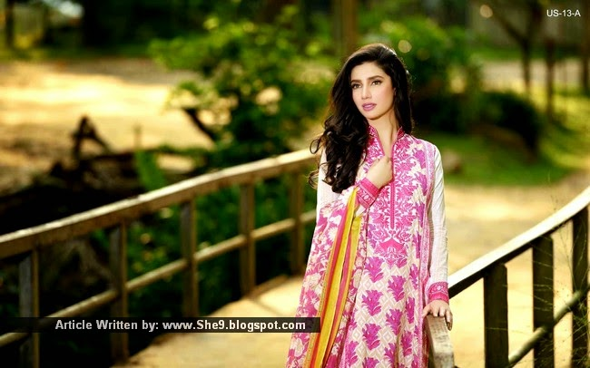 Umar Sayeed Lawn Collection 2015 Magazine