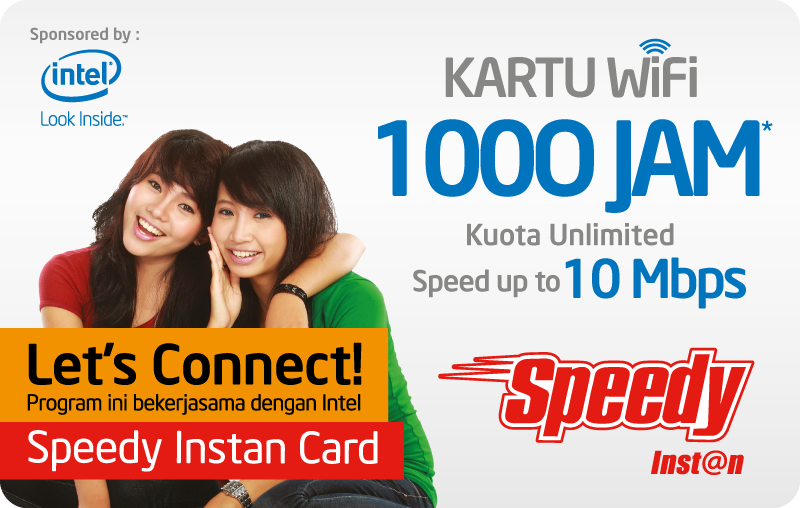 Akun Speedy Instan Terbaru April 2015