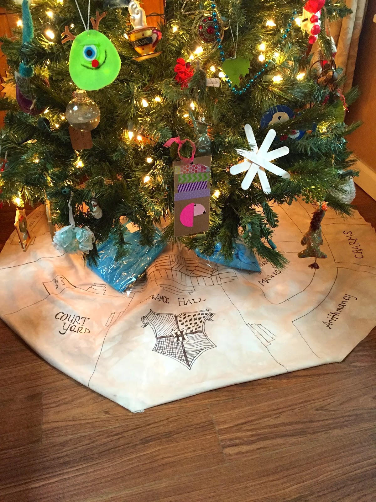 what size christmas tree skirt do i need