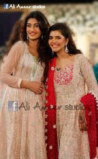 Nida yasir Sadia Iman Wedding and Valima Images