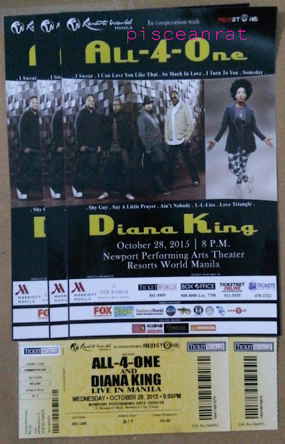 all 4 one diana king concert ticket price,