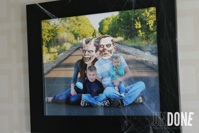 UNDONE: Add spooky faces to family photos for Halloween