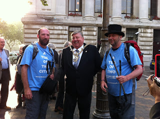 Dickens brothers and the Lord Mayor of Portsmouth