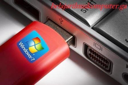 Cara Instal Windows 7 Menggunakan Flashdisk dan CD