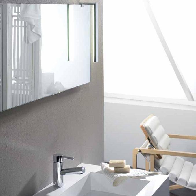 Aplique luz ba o foco led espejo tu cocina y ba o - Aplique pared bano ...