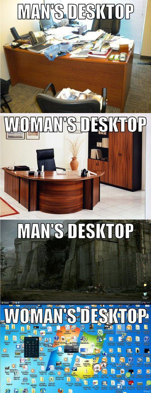 20 Hilarious But True Differences Between Men And Women - On desktops
