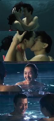 Artis Korea Soo-ae & Kim Rae Won Berciuman di Bawah Air Untuk Drama A Thousand Days Promise