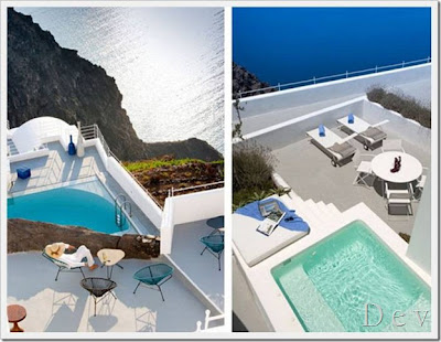 Island of santorini greece