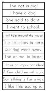 Little Literacy Learners: Fluency Practice-Sight Word Phrase Cards