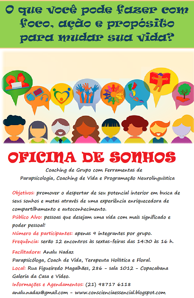 OFICINA DE SONHOS!