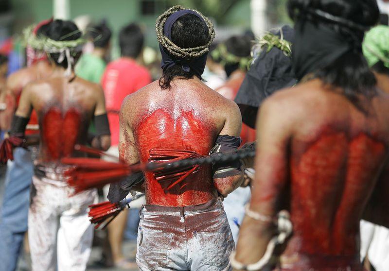 penitensya - Bloody Lent - Philippine Photo Gallery