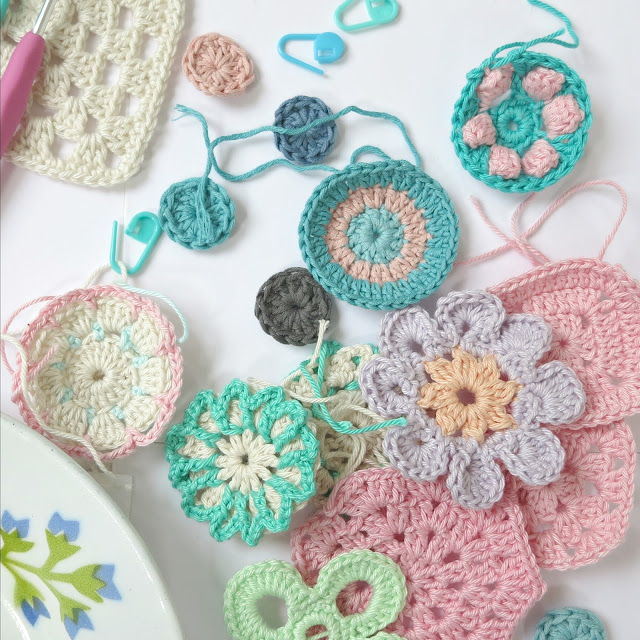 byHaafner, crochet, pastel, colours