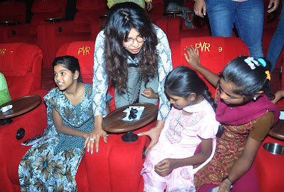 Priyanka Chopra graces the special screening of Disnay Planes for underprivileged girls