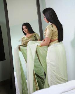 Actress Poorna  In Saree 5.jpg