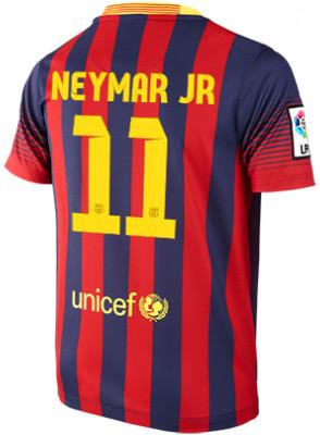camisa Neymar Barça 2014 número 11