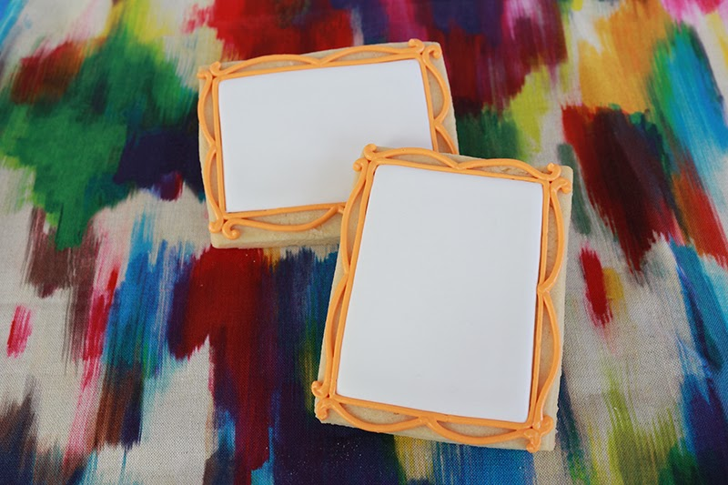picture frame cookies