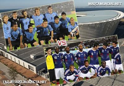 Partido amistoso Francia vs Uruguay ¡Convocados!