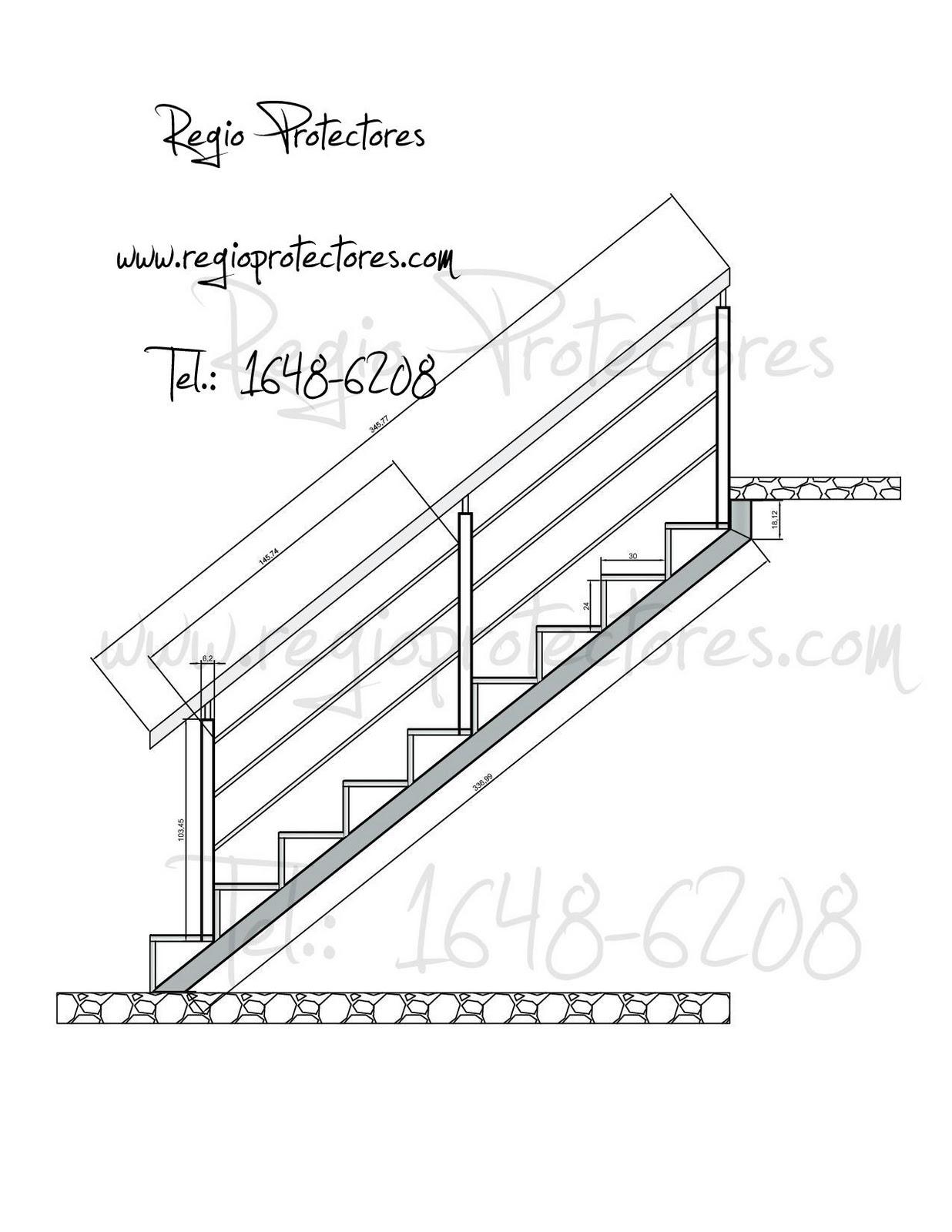 Disenos pasamanos para escaleras con fierro kamistad - Barandales de escaleras ...