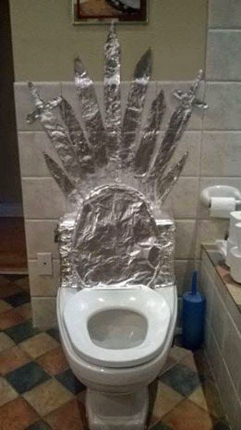 #GameOfThrones Toilet Throne For Every one :)