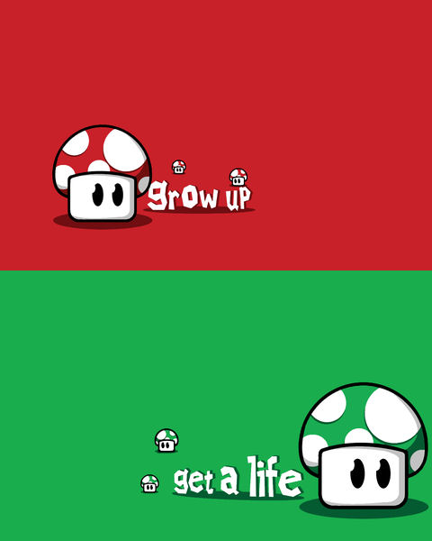 Lessons From Mario - Grow Up, Get A Life