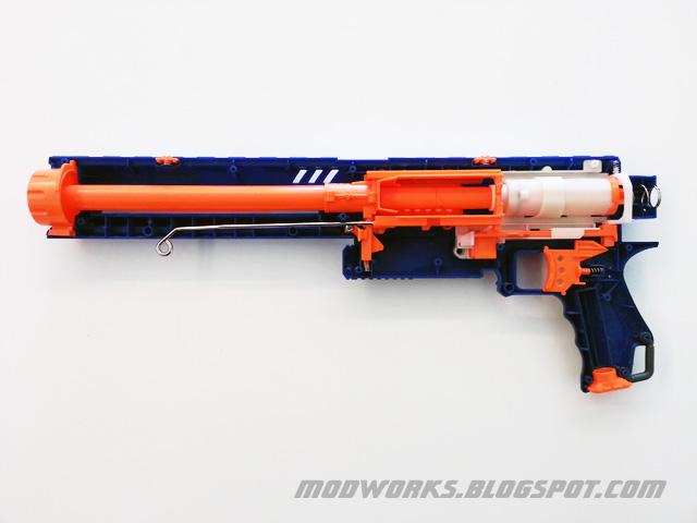 Mod Works Nerf N Strike Elite Rampage Internals Guide