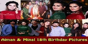 Aiman and Minal Birthday Party Pictures
