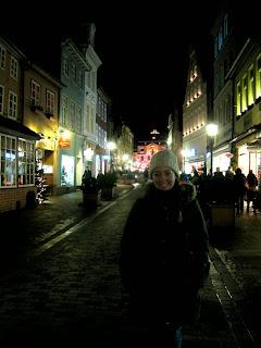 Lüneburg street to Christmas market