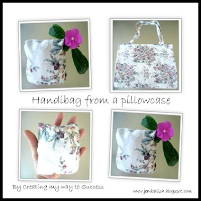 Handibag from a Pillowcase