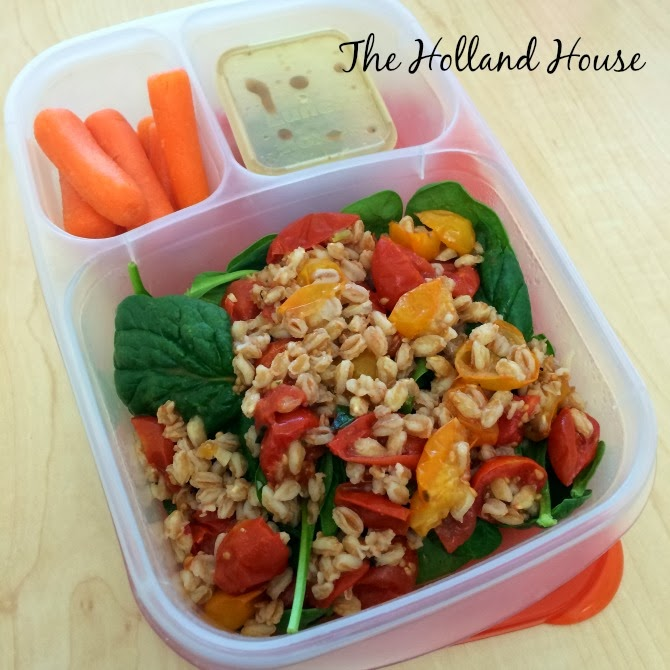 The Holland House: Slow-Roasted Tomato and Farro Salad