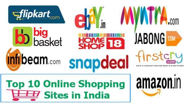Image gallery online shopping sites for Online shopping websites list