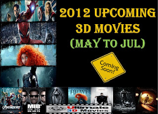 upcoming 3d movies