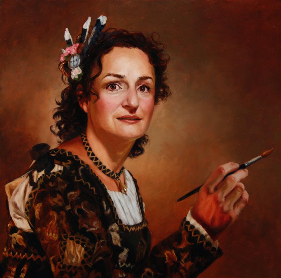 Terry Strickland Art Mary Lee As Artemisia Gentileschi
