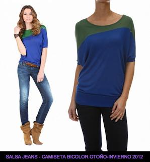 Salsa-Jeans-Camisetas-Otoño-Invierno-2012/2013