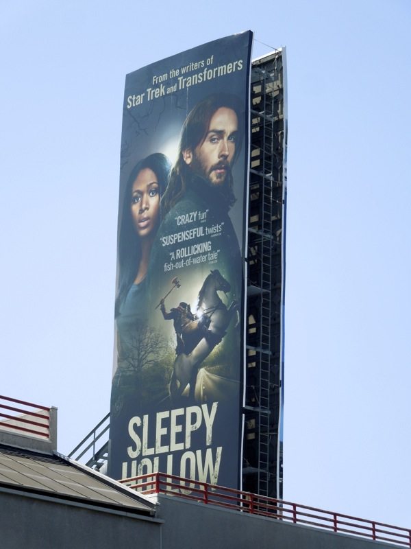 Sleepy Hollow TV remake billboard