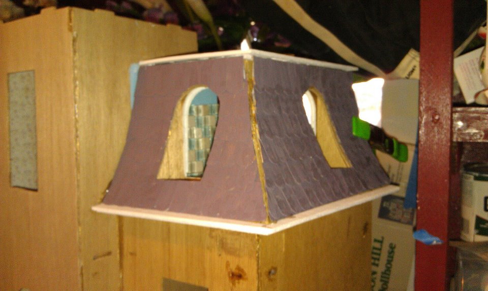 Dollhouse days my beacon hill journey for Mansard roof pros and cons