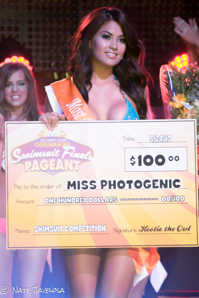 West Coast Hooters Swimsuit Finals Pageant 2013: Countdown to the