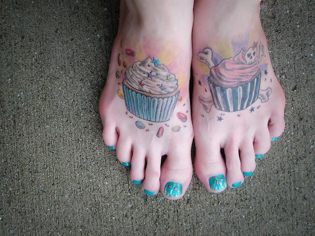 Cupcake Tattoos