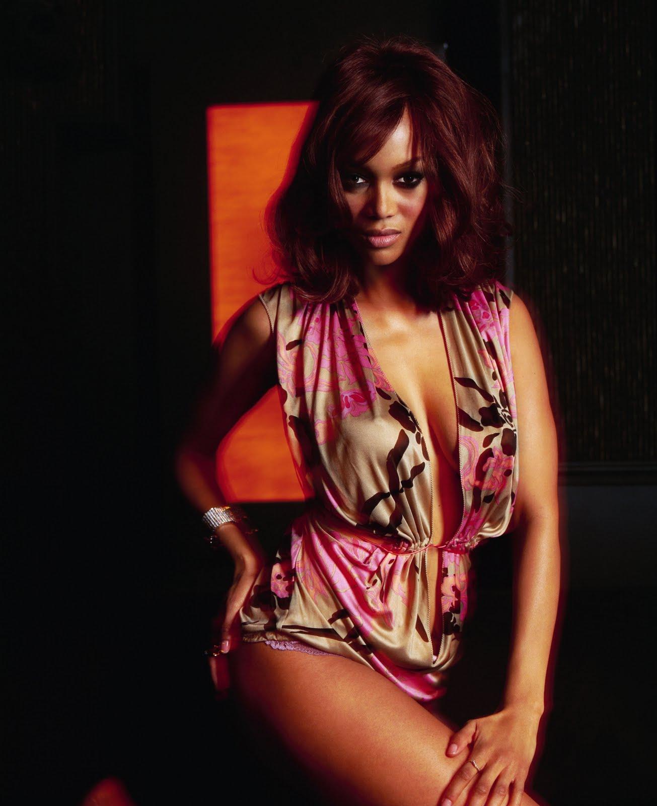 Tyra Banks Image: Tyra Banks Photo Shoot For King Magazine