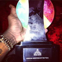 Wizkid Wins African Artist Of The Year At Ghana Music Awards 2013 (Photos)
