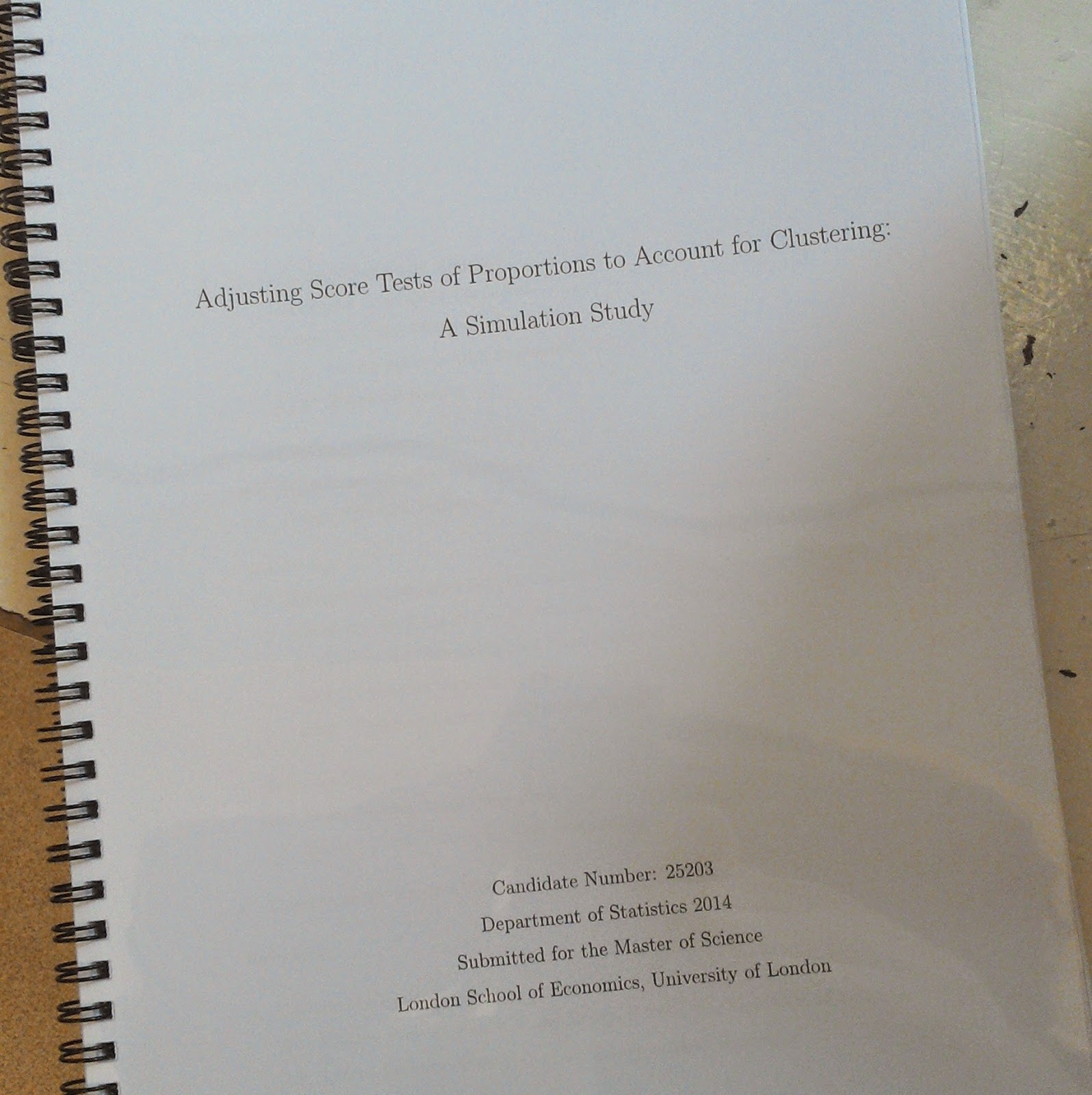 Dedication Pages Dissertation