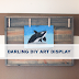UHeart Organizing: Darling DIY Art Display