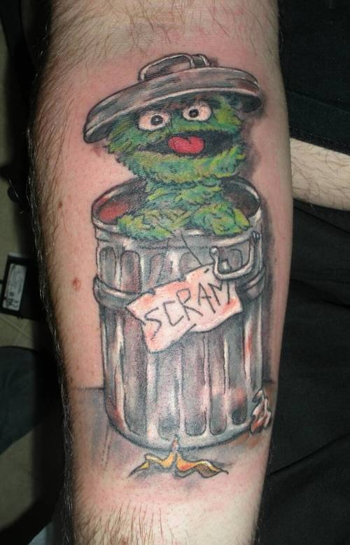 sesame street and the muppets tattoos the tattooed blog