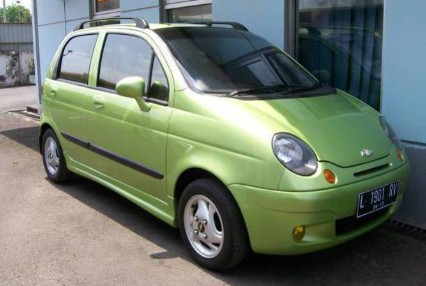 Bentuk mobil Chevrolet Spark
