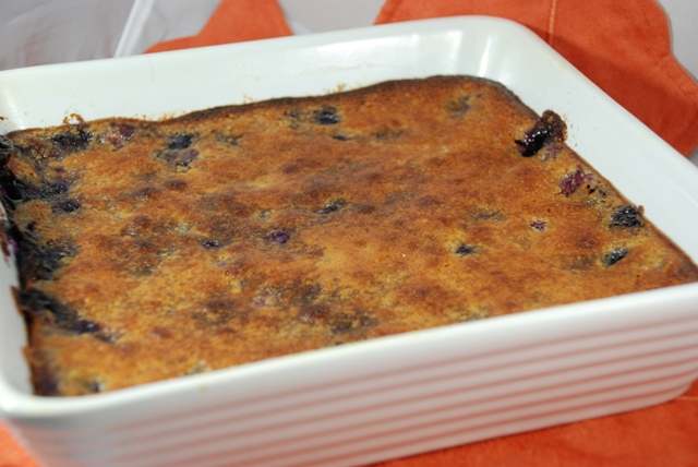 KC in the Kitchen: Blueberry Gratin