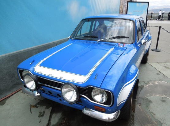 Fast Furious6 blue 1970 Ford Escort RS1600